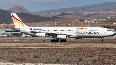 EC-MFA - Airbus A340-313 - Plus Ultra Líneas Aéreas