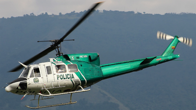 PNC-0494 - Bell 212HP - Colombia - Police