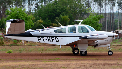 PT-KFD - Beechcraft V35B Bonanza - Private