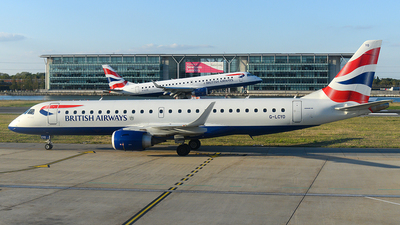 A picture of GLCYO - Embraer E190SR - British Airways - © Andrew Hunt