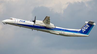 A picture of JA853A - De Havilland Canada Dash 8400 - All Nippon Airways - © Tokubee