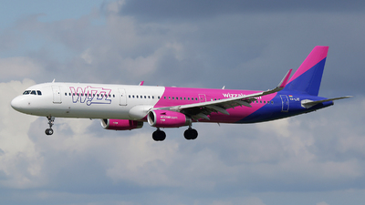 HA-LXE - Airbus A321-231 - Wizz Air