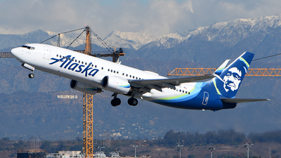 A picture of N513AS - Boeing 737890 - Alaska Airlines - © Rocky Wang