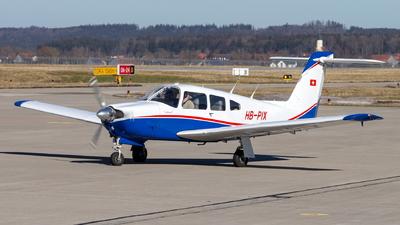 HB-PIX - Piper PA-28RT-201 Arrow IV - Fliegerschule Birrfeld