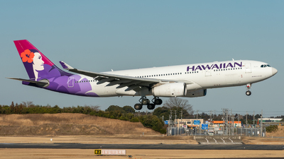 A picture of N379HA - Airbus A330243 - Hawaiian Airlines - © K.Yamashita