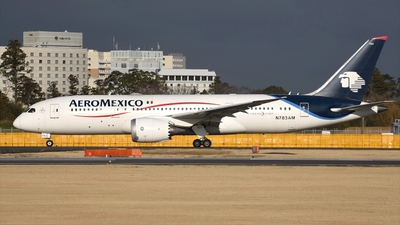 A picture of N783AM - Boeing 7878 Dreamliner - Aeromexico - © Akihiko Takahashi