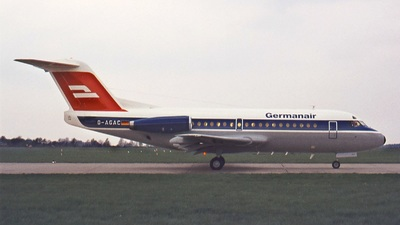 D-AGAC - Fokker F28-1000 Fellowship - Germanair