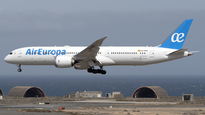 A picture of ECNFM - Boeing 7879 Dreamliner - Air Europa - © Leandro Hdez