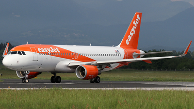 OE-IZL - Airbus A320-214 - easyJet Europe