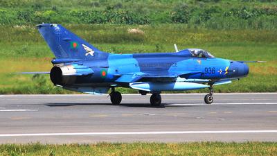 F936 - Chengdu F-7BG - Bangladesh - Air Force