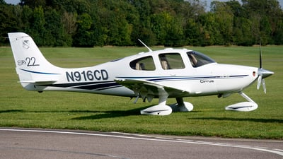 N916CD - Cirrus SR22 - Private