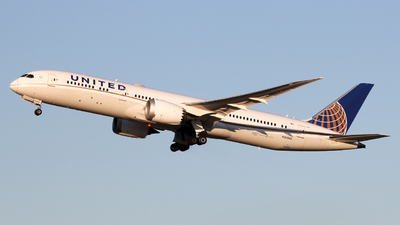 N26966 - Boeing 787-9 Dreamliner - United Airlines