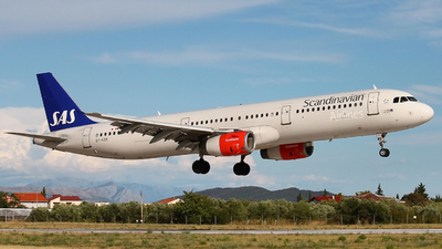 OY-KBK - Airbus A321-232 - Scandinavian Airlines (SAS)