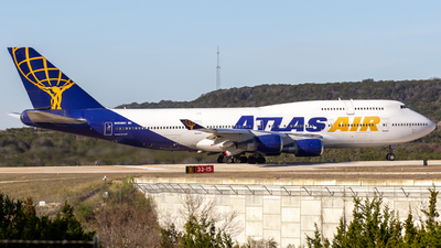 N464MC - Boeing 747-446 - Atlas Air