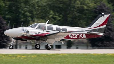 N287KM - Beechcraft 58P Baron - Private