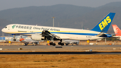 A picture of B2827 - Boeing 7572Y0(PCF) - China Postal Airlines - © ChengFJ