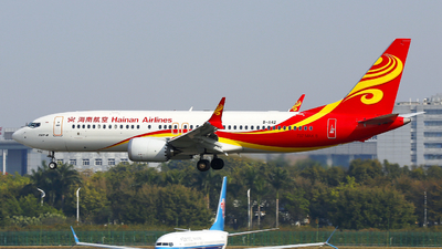 B-1142 - Boeing 737-8 MAX - Hainan Airlines