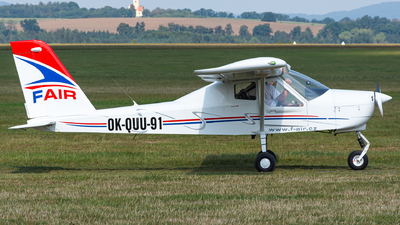 OK-QUU-91 - Tecnam P92 Echo Classic - F-Air Flight School