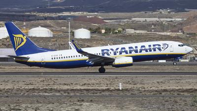 A picture of EIEVS - Boeing 7378AS - Ryanair - © Manu Aldana