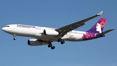 F-WWCH - Airbus A330-243 - Hawaiian Airlines