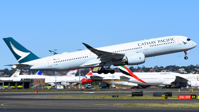 B-LRP - Airbus A350-941 - Cathay Pacific Airways