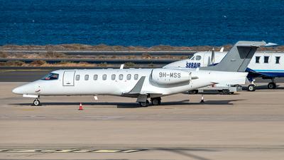 9H-MSS - Bombardier Learjet 45 - Hyperion Aviation