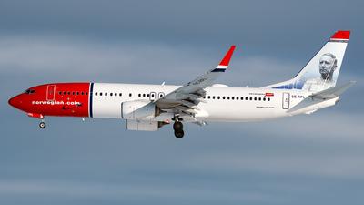 A picture of SERPL - Boeing 7378JP - Norwegian - © Laszlo Fekete