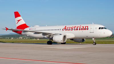 OE-LBJ - Airbus A320-214 - Austrian Airlines