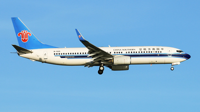 A picture of B1525 - Boeing 73781B - China Southern Airlines - © RuiQi Liang