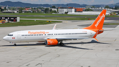 C-FYJD - Boeing 737-8Q8 - Sunwing Airlines
