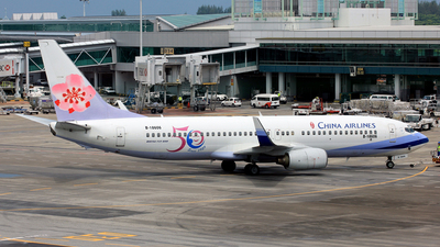 B-18606 - Boeing 737-809 - China Airlines