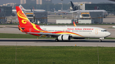 A picture of B1503 - Boeing 73784P - Hainan Airlines - © Liu Yonggang