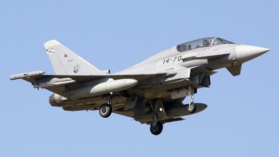 CE.16-11 - Eurofighter Typhoon EF2000 - Spain - Air Force