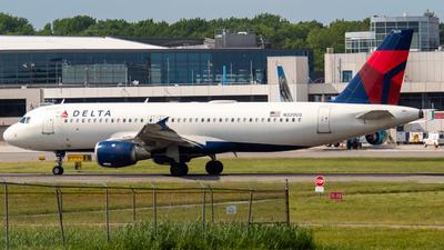 N320US - Airbus A320-211 - Delta Air Lines