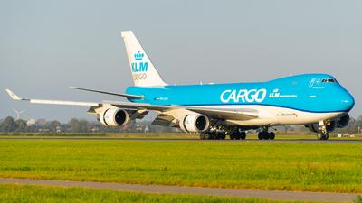 A picture of PHCKB - Boeing 747406F(ER) - KLM - © Tim Richter