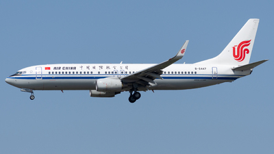 B-5447 - Boeing 737-89L - Air China