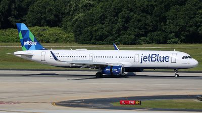 N975JT - Airbus A321-231 - jetBlue Airways