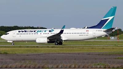 C-GOCD - Boeing 737-8CT - WestJet Airlines