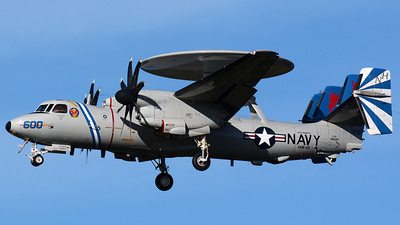 168597 - Grumman E-2D Advanced Hawkeye - United States - US Navy (USN)