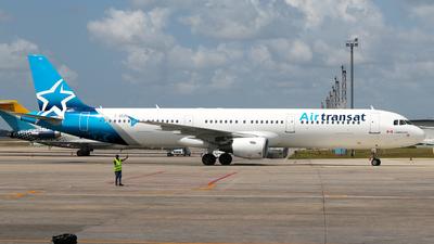 C-GEZD - Airbus A321-211 - Air Transat