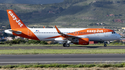 A picture of OEICT - Airbus A320214 - easyJet - © Leandro Hdez