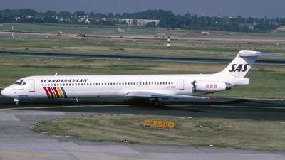 OY-KGT - McDonnell Douglas MD-82 - Scandinavian Airlines (SAS)