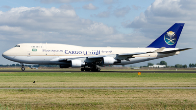 TF-AMI - Boeing 747-412(BDSF) - Saudi Arabian Airlines Cargo