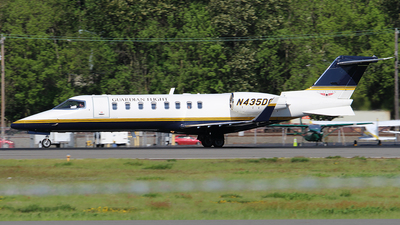 N435DC - Bombardier Learjet 45 - Guardian Flight