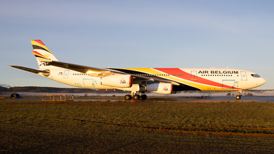 A picture of OOABD - Airbus A340313 - Air Belgium - © Pierre Pm
