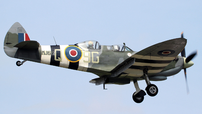 G-BMSB - Supermarine Spitfire T.9 - Private