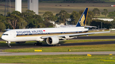 A picture of 9VSWU - Boeing 777312(ER) - Singapore Airlines - © Noah Pitkin