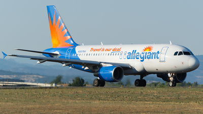 A picture of N307NV - Airbus A319112 - Allegiant Air - © SpotterPowwwiii