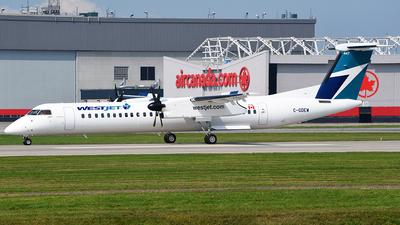 C-GDEW - Bombardier Dash 8-Q402 - WestJet Encore