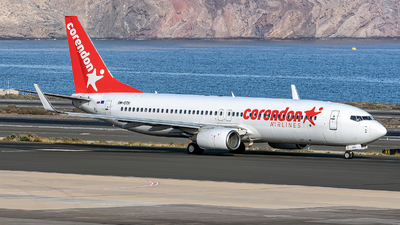 OM-GTH - Boeing 737-8BK - Corendon Airlines (Go2Sky)